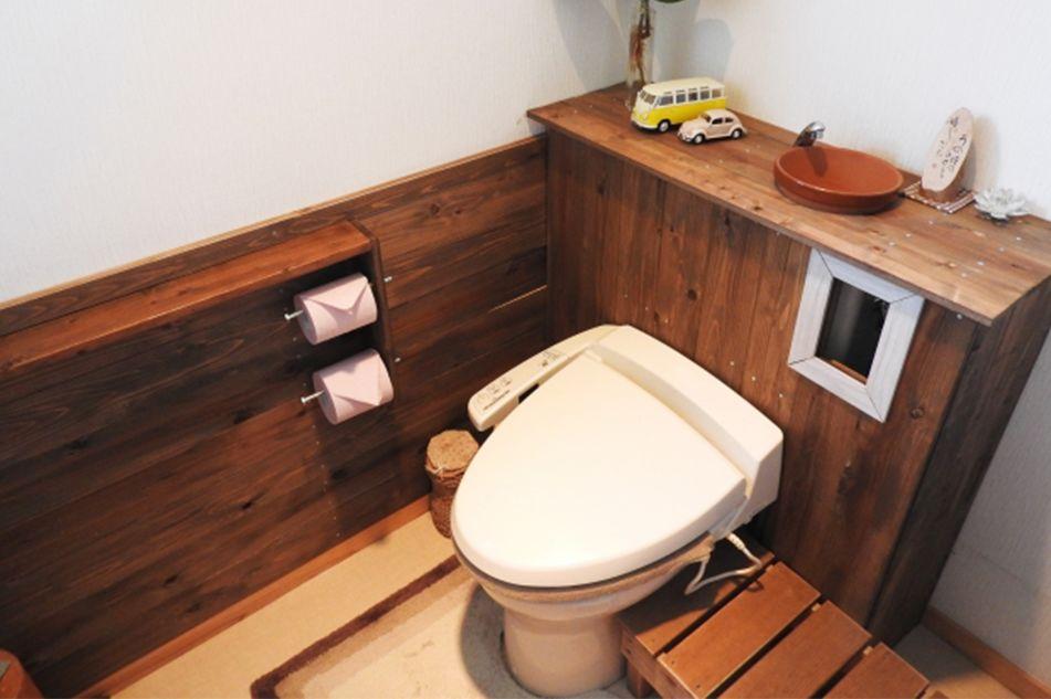 手洗いカウンター・収納